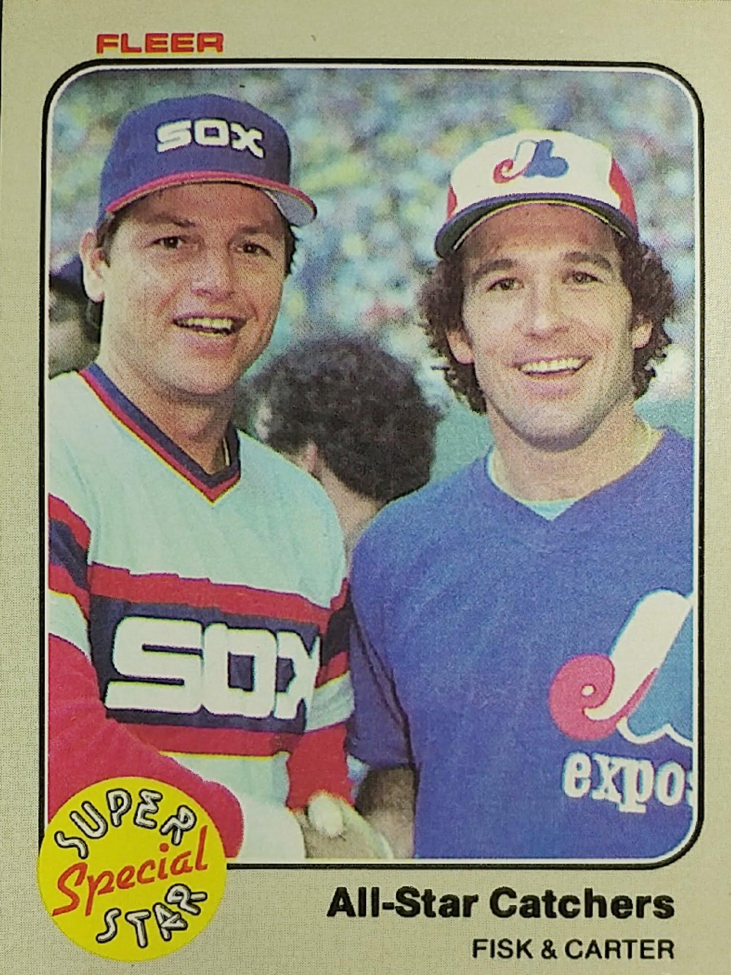 Fleer 1983 All-Star Catchers front