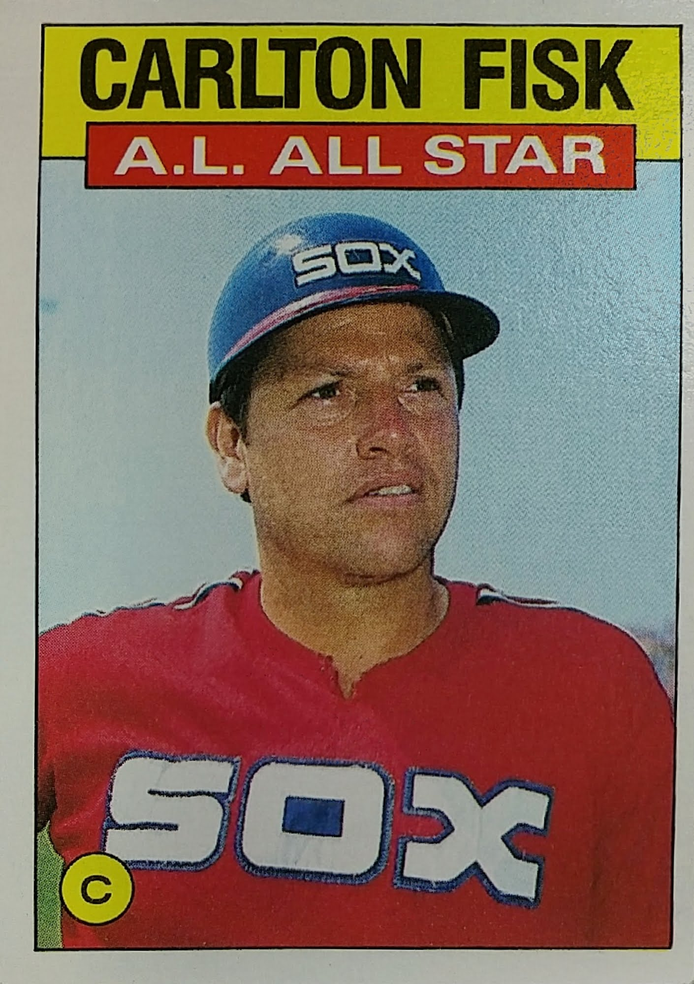 Topps All-Star 1986 Front